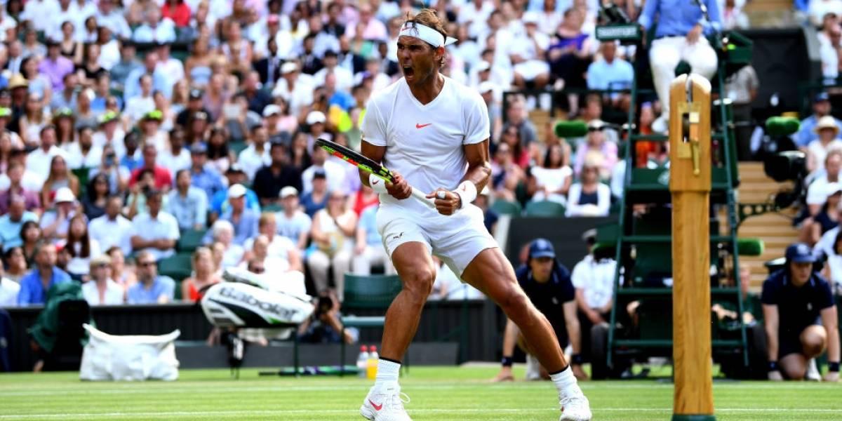 """Nadal rompe su """"mufa"""" en Wimbledon y podría chocar en semis con Djokovic"""