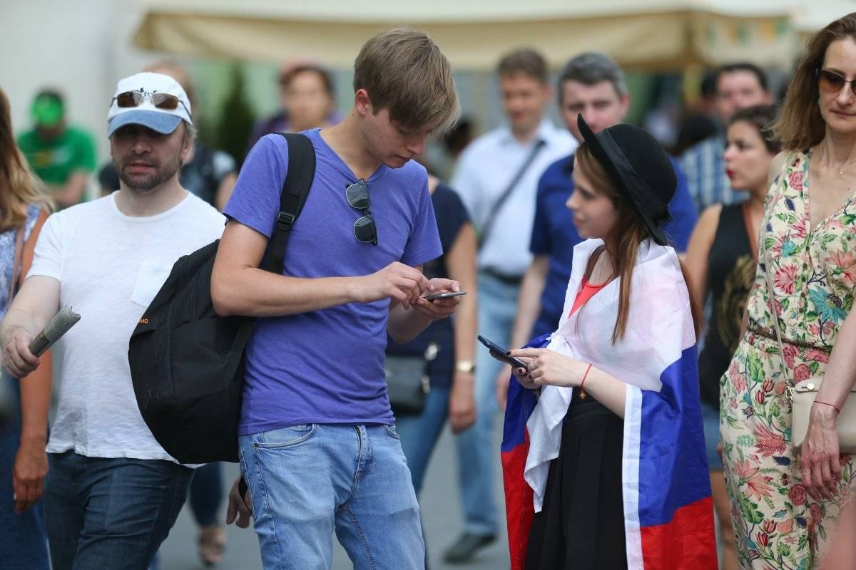 mujeres rusas en el mundial