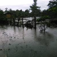 Inundaciones en Izabal