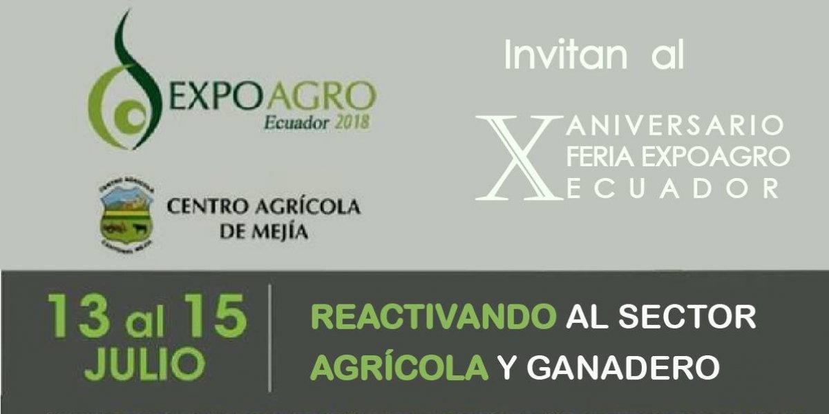 ExpoAgro 2018 te invita a disfrutar de un día de campo en el cantón Mejía