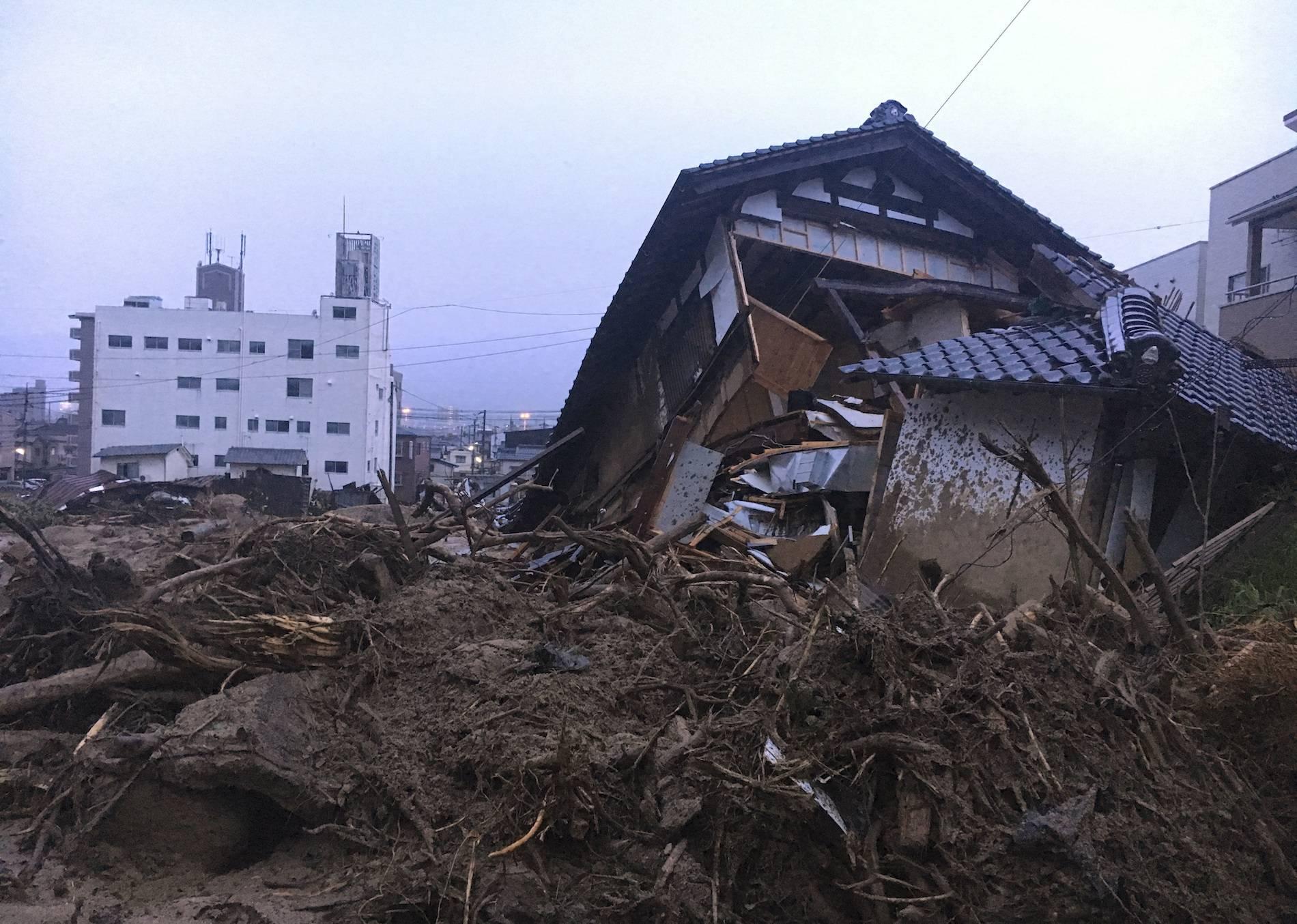 Japón Inundaciones