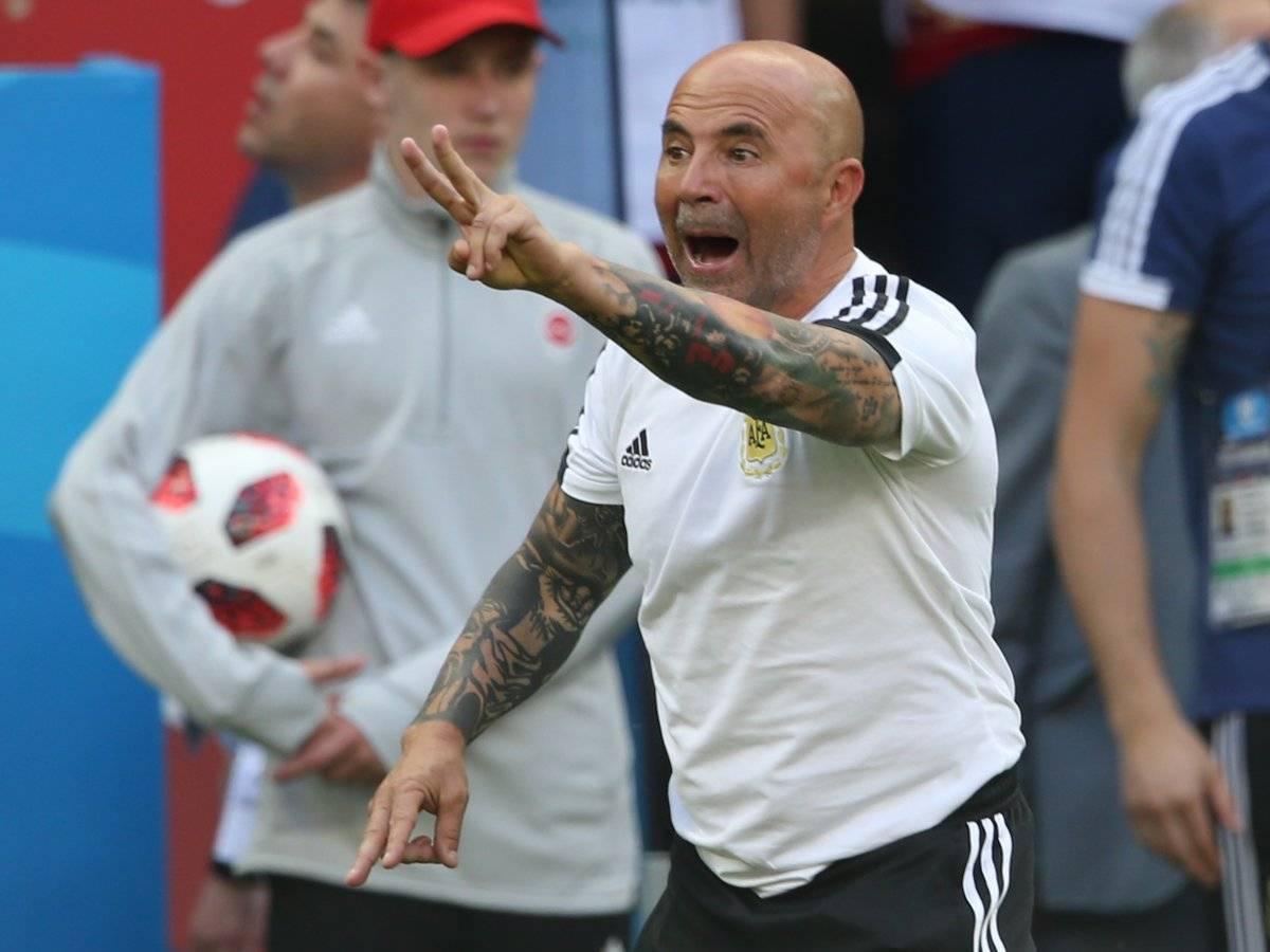Sampaoli seguirá en la selección argentina.