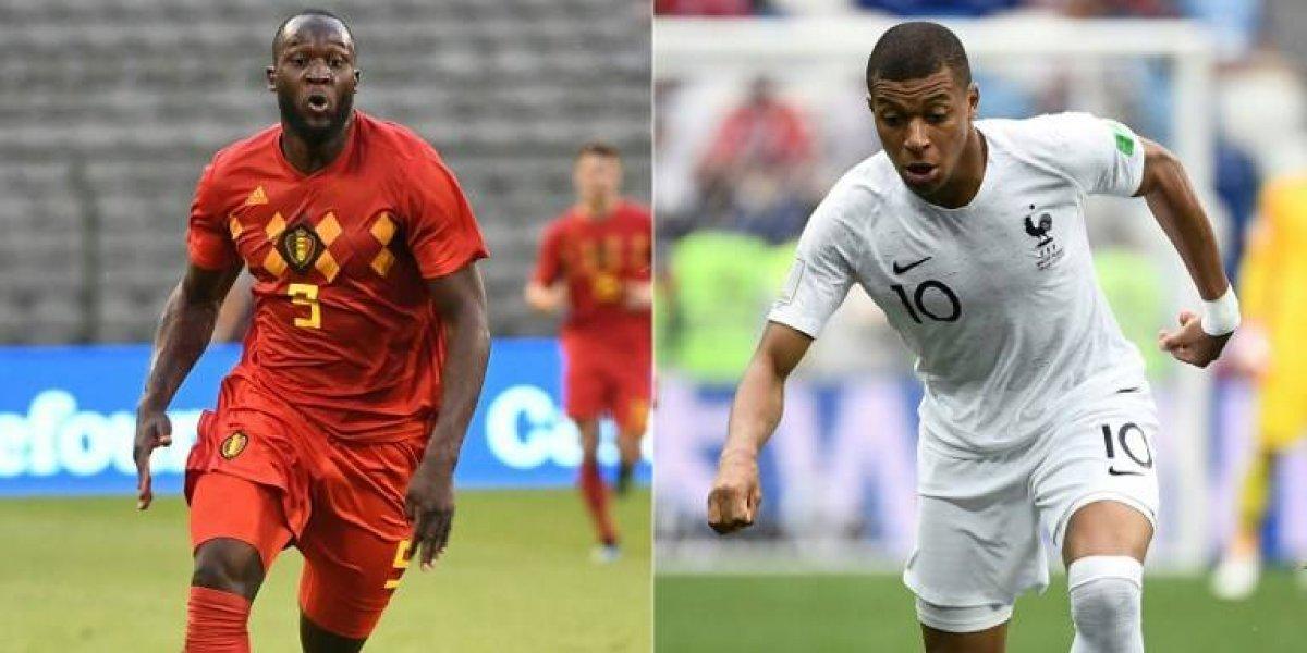Dos de los mejores se enfrentan, pero solo uno avanzará, ¿Francia o Bélgica?