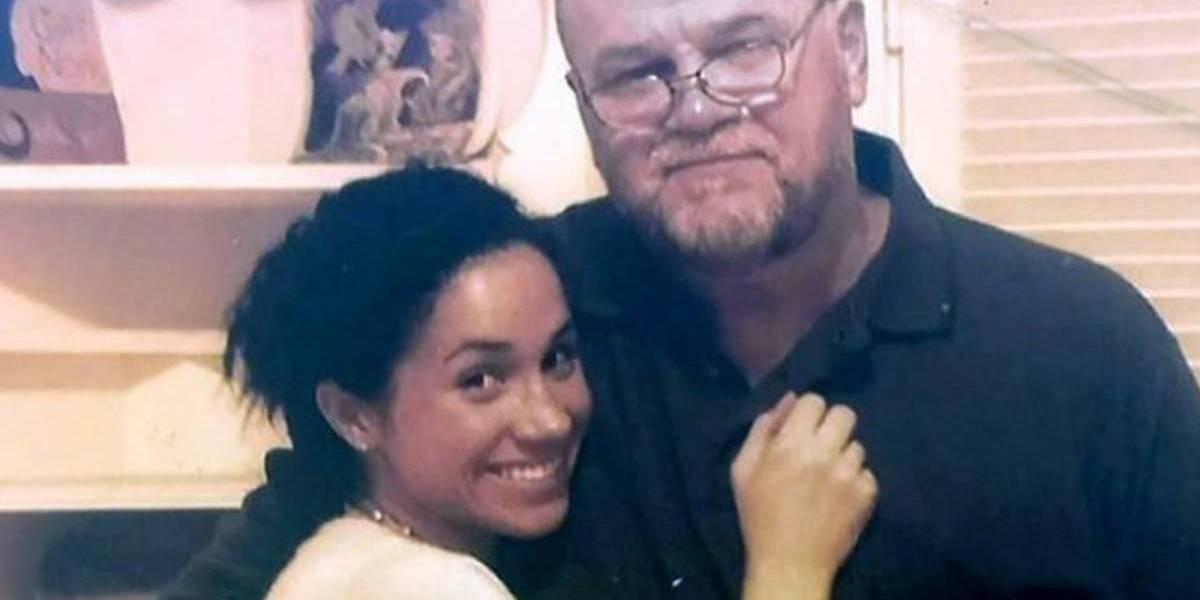 Jornal levanta provas de que o pai de Meghan Markle inventou cirurgia para faltar ao casamento