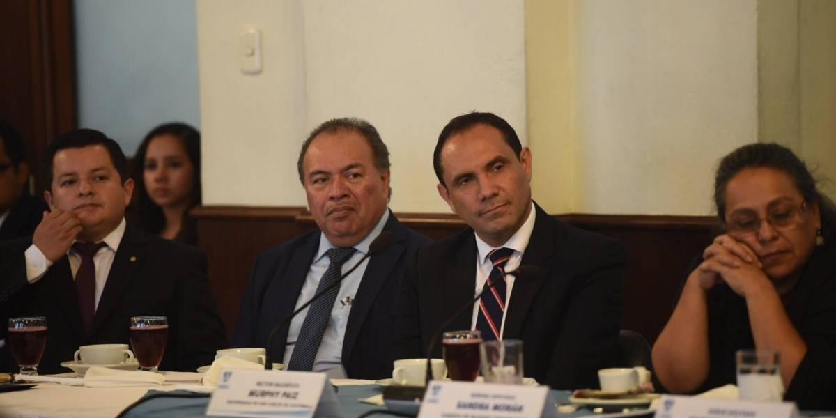 Diputados del PAN le piden a rector de la Usac no participar en manifestaciones