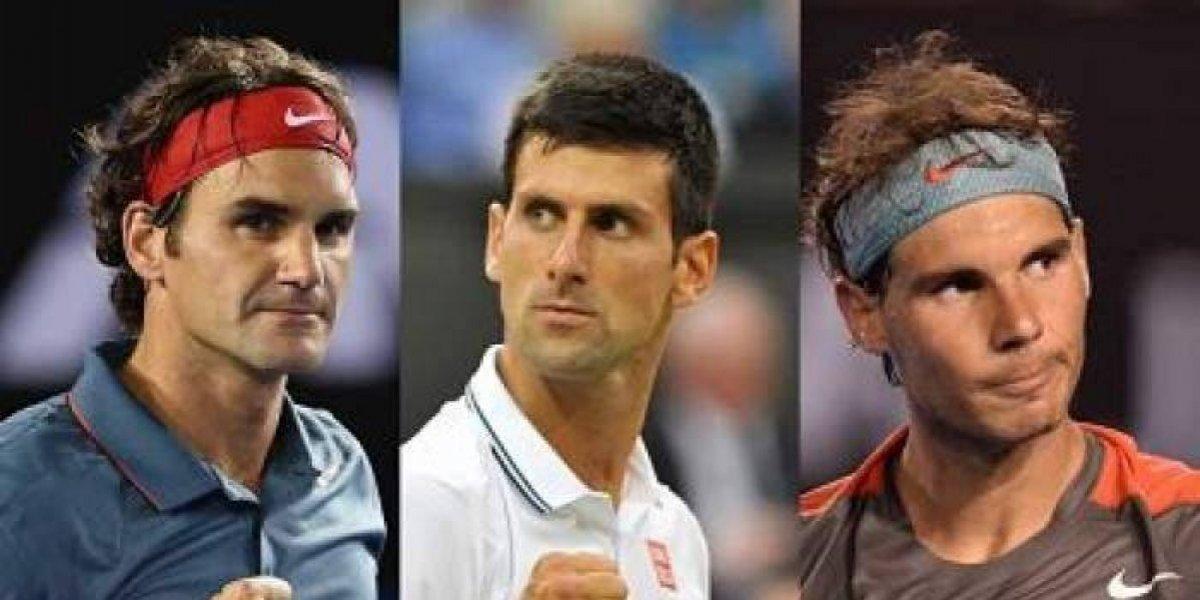 Nadal, Federer y Djokovic dominan en Wimbledon