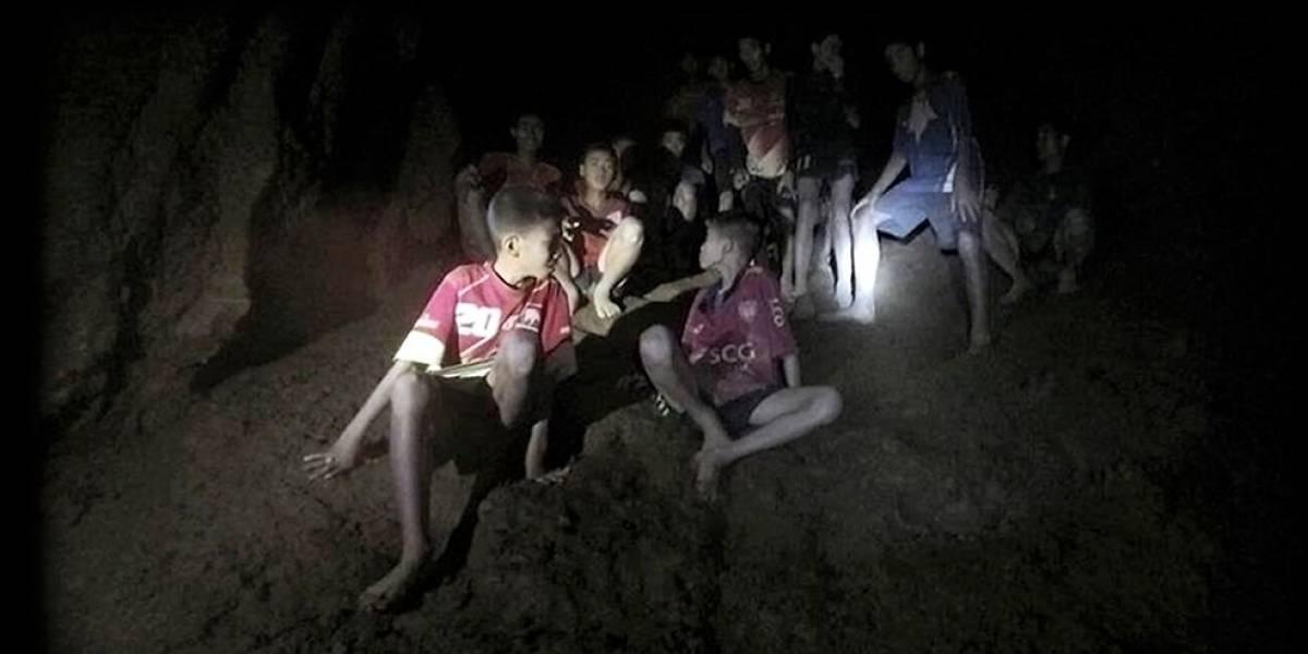 Imagen: Representación sobre el rescate de los niños en Tailandia oculta un gran simbolismo