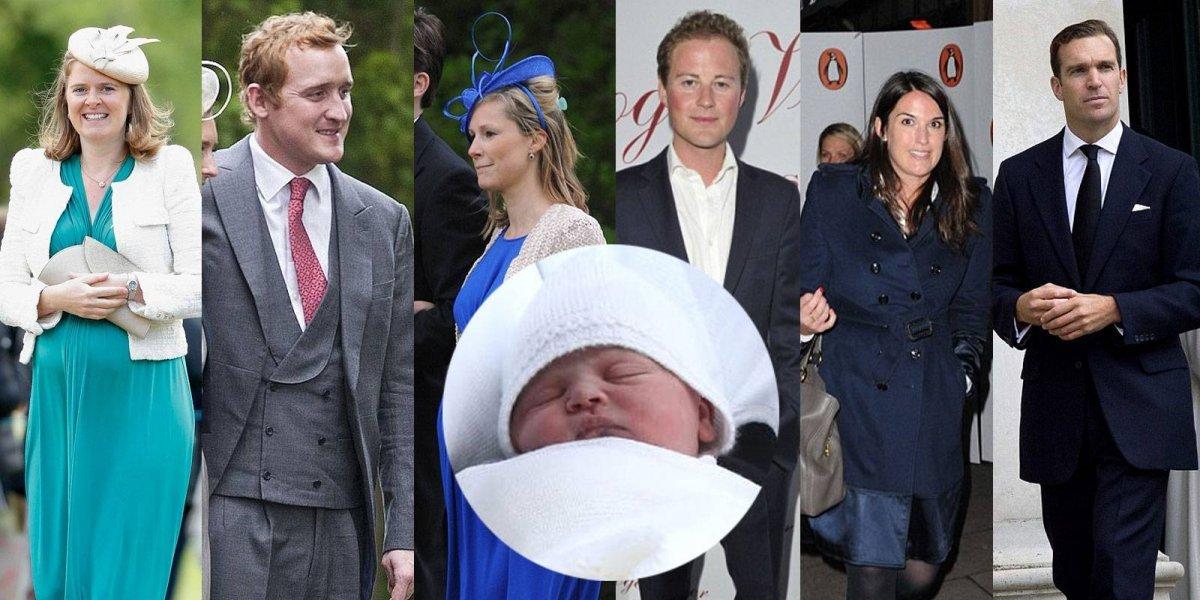 Ni Harry ni Meghan fueron escogidos entre los seis padrinos del Príncipe Louis