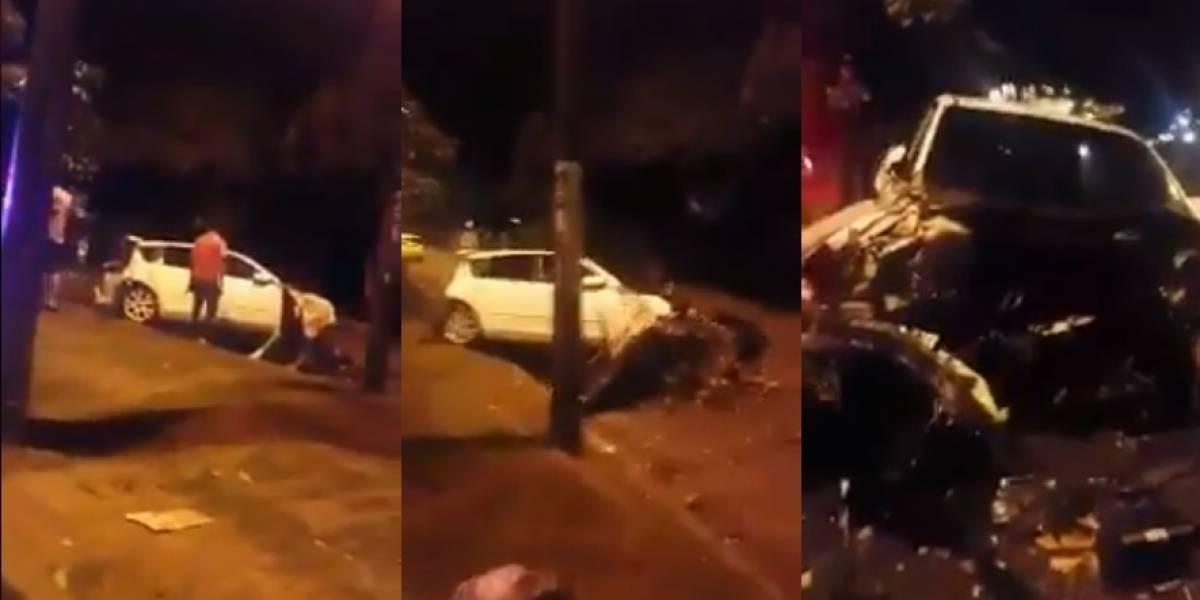 ¿Volvieron los piques ilegales a Cali?, brutal accidente de tránsito sugiere que sí
