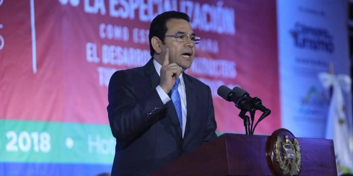 """""""Somos los que hemos abanderado esa lucha contra la corrupción"""", dice el presidente Morales sobre su Gobierno"""