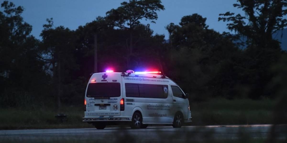 Tailandia: Rescatan a otros 4 niños; 5 aún permanecen atrapados en cueva