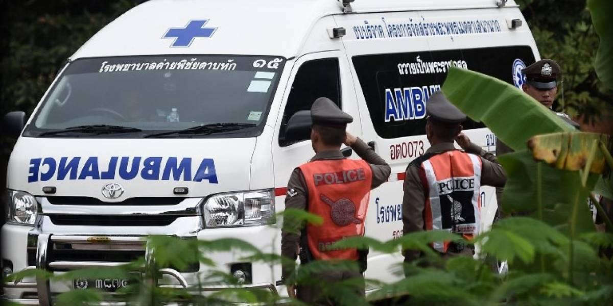 Segundo día de operaciones en Tailandia para rescatar a más niños atrapados en la cueva