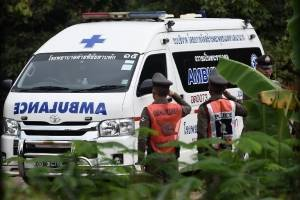 Segundo día de rescate de niños en Tailandia