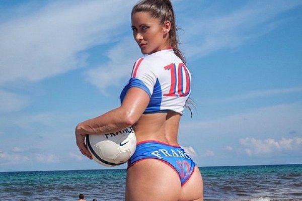 Anais Zanotti Sexy Aficionada De La Selección De Francia