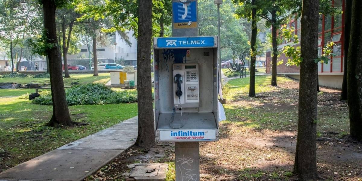 México: Las casetas telefónicas se encuentran en extinción