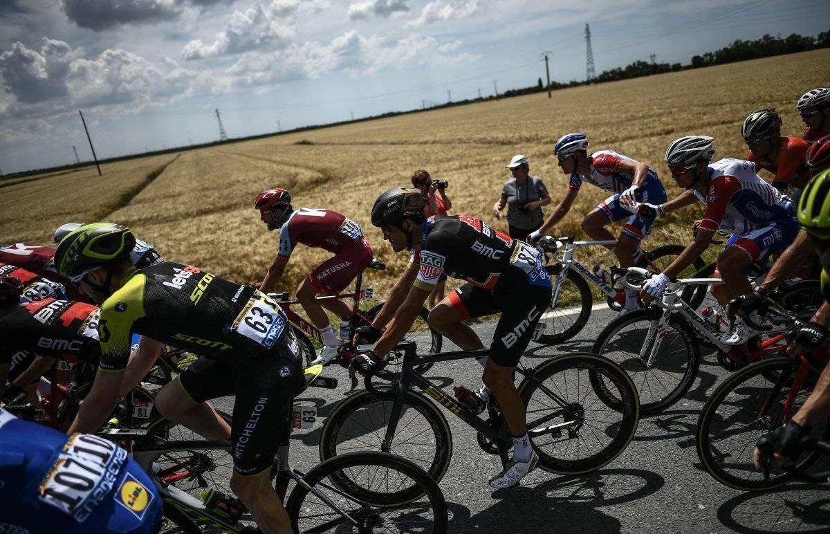 Van Avermaet es el nuevo líder del Tour
