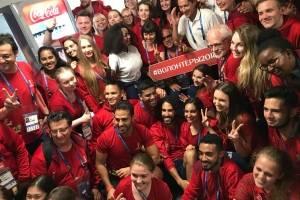 Homenajean a voluntarios en Rusia 2018