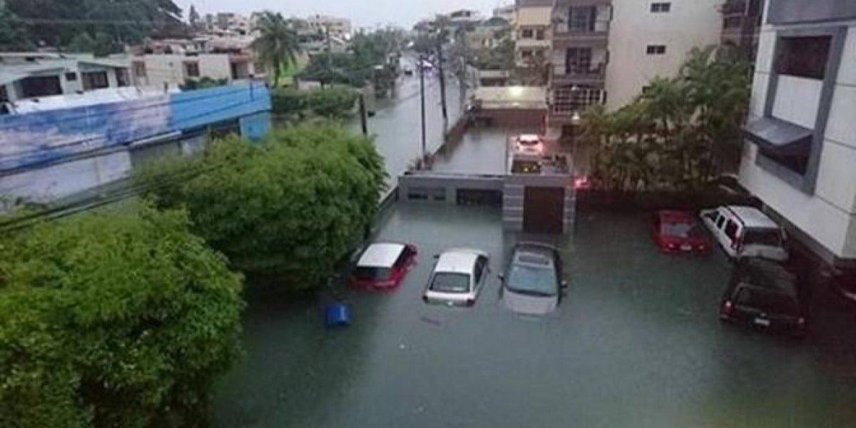 Remanentes de tormenta Beryl inundan parte de RD
