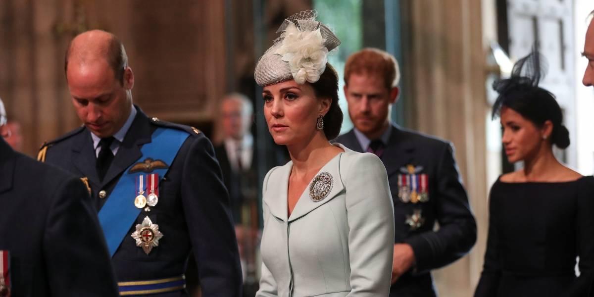 Megan Markle e Kate Middleton causam furor em evento oficial; veja fotos