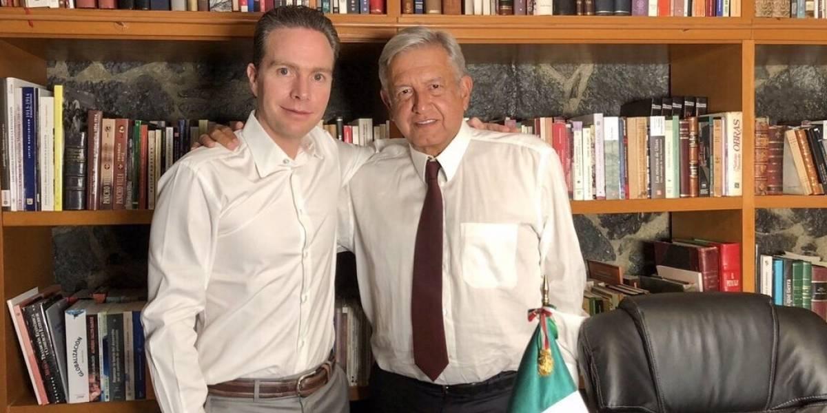 Confirma Manuel Velasco reunión de AMLO con la Conago