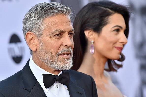 George Clooney sufrió un accidente de moto y está hospitalizado Getty Images