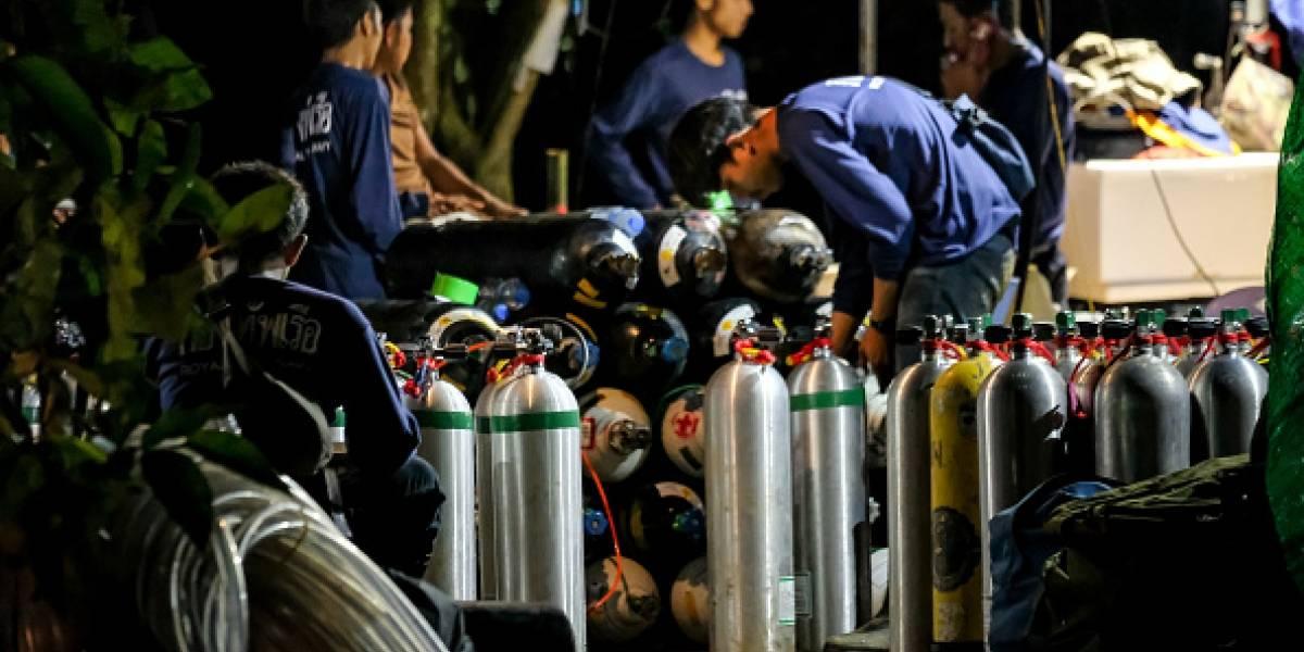 Las impactantes imágenes del rescate de los niños — Tailandia