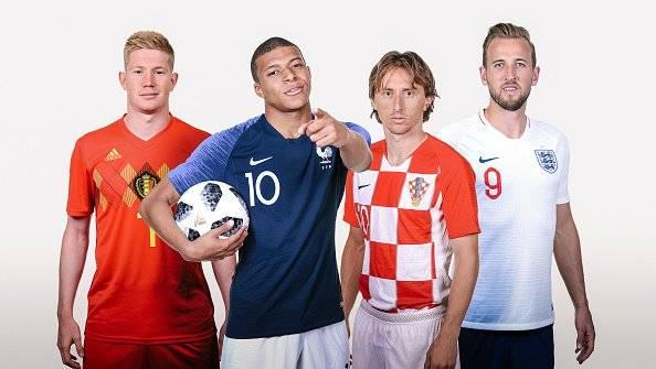 Francia vs Bélgica: Alerta en los franceses porque Mbappé no participó en su último entrenamiento Getty Images