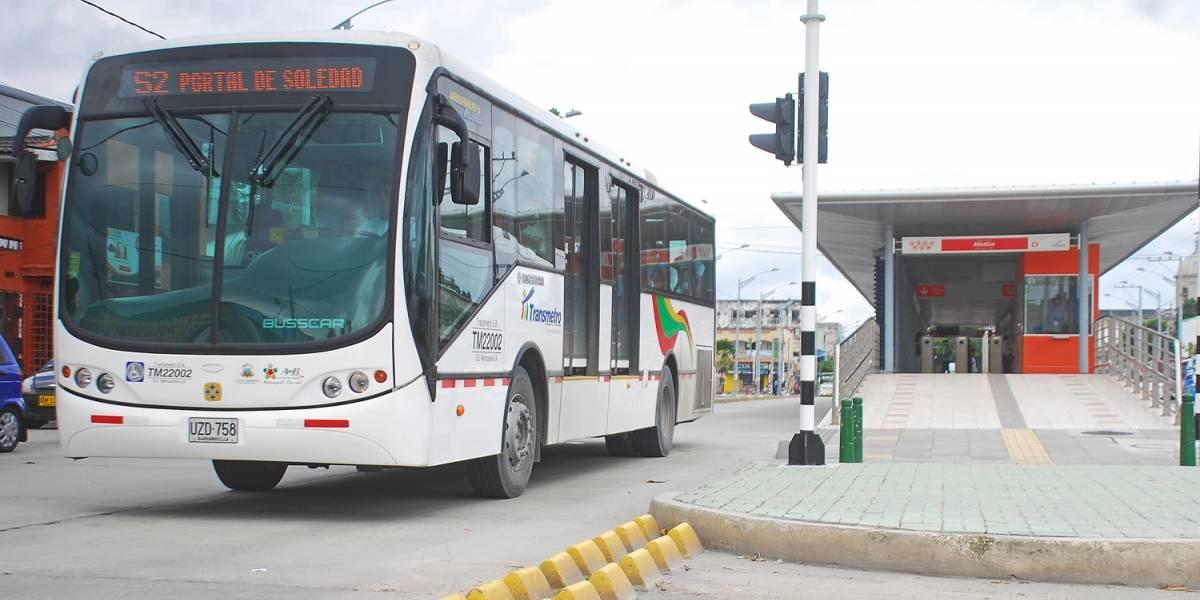Transmetro cumplió ocho años de servicio en Barranquilla