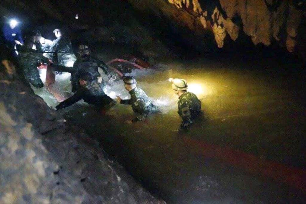 rescate niños cueva Tailandia