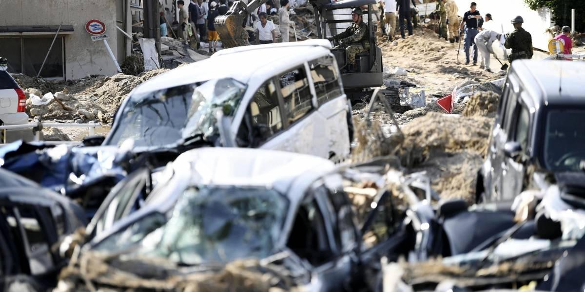 Tifón Jebi deja 11 muertos y 300 heridos en Japón