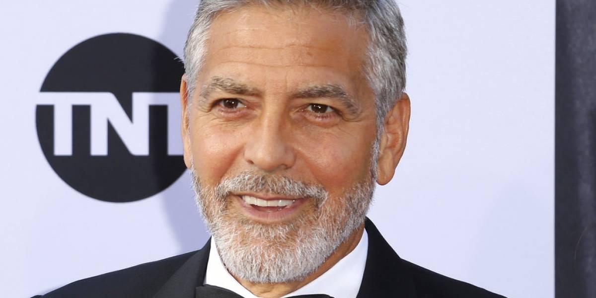 George Clooney es dado de alta tras accidente en moto en Italia