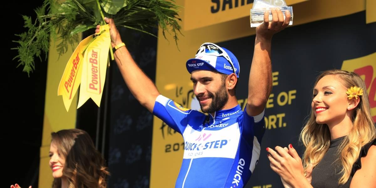 Fernando Gaviria consigue doblete en el Tour de Francia