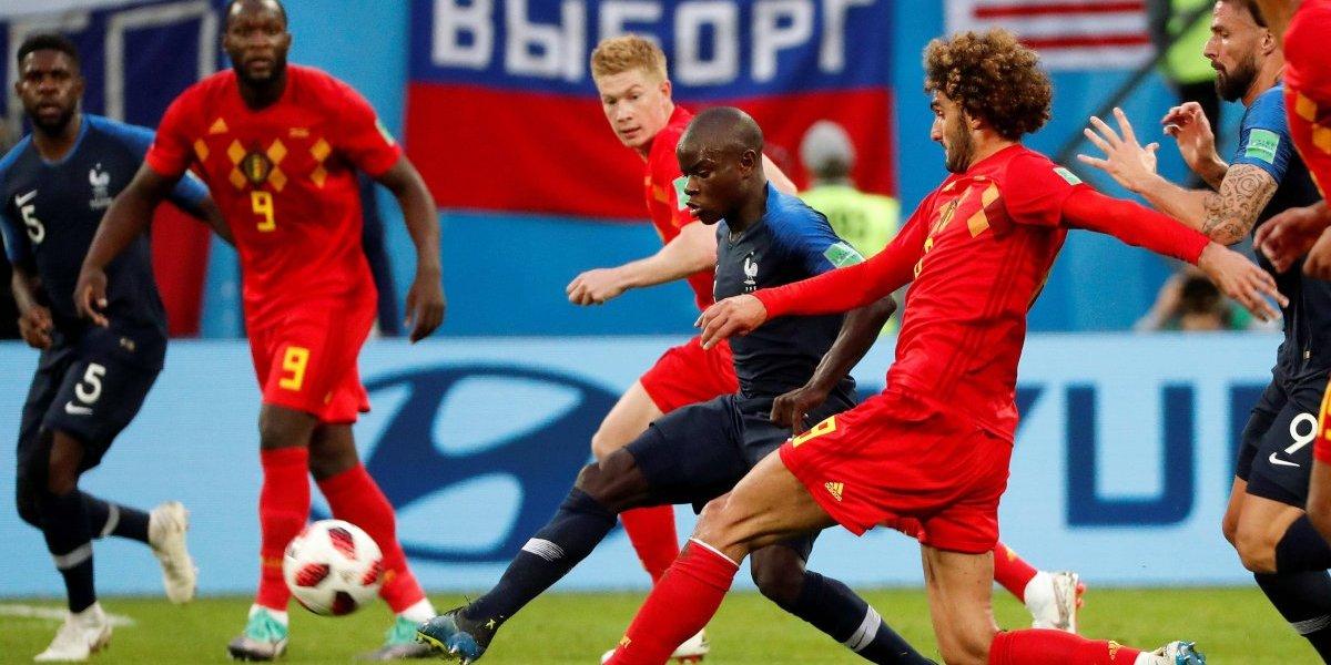 Bélgica y Francia se inspiran en 'enormes' figuras del pasado