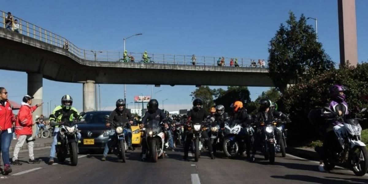 Preocupante cifra de motociclistas y ciclistas muertos este año en Bogotá