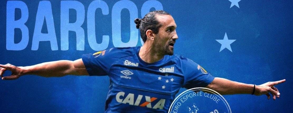 Hernán Barcos jugará en el Cruzeiro de Brasil TWITTER CRUZEIRO