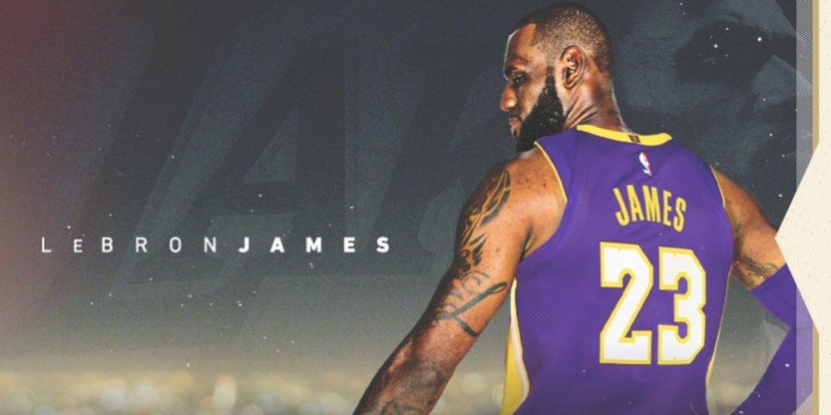 Ya es oficial: LeBron James es nuevo jugador de los mediáticos Lakers