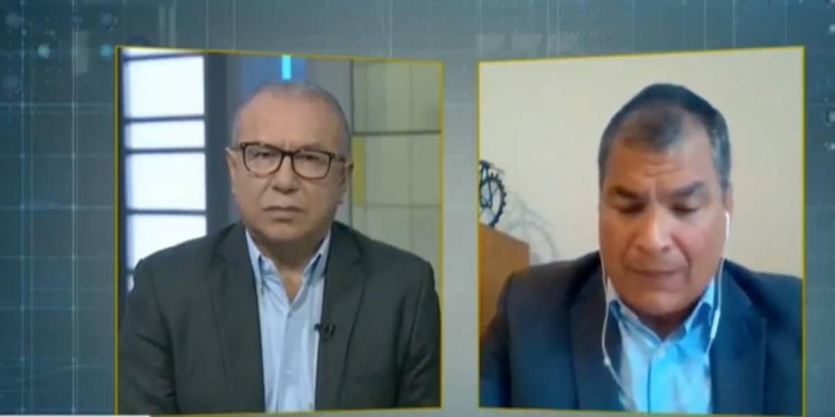 Rafael Correa: Moreno decía que fui el mejor Presidente de la historia, ahora ha cambiado el discurso