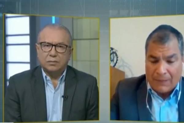 Rafael Correa en Telesur
