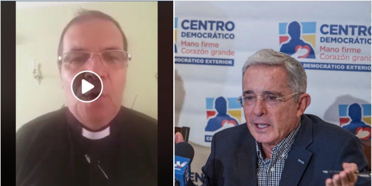Sacerdote responsabiliza a Uribe y Duque de muertes de líderes sociales
