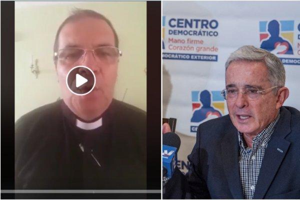 Sacerdote de Roldanillo responsabiliza a Álvaro Uribe