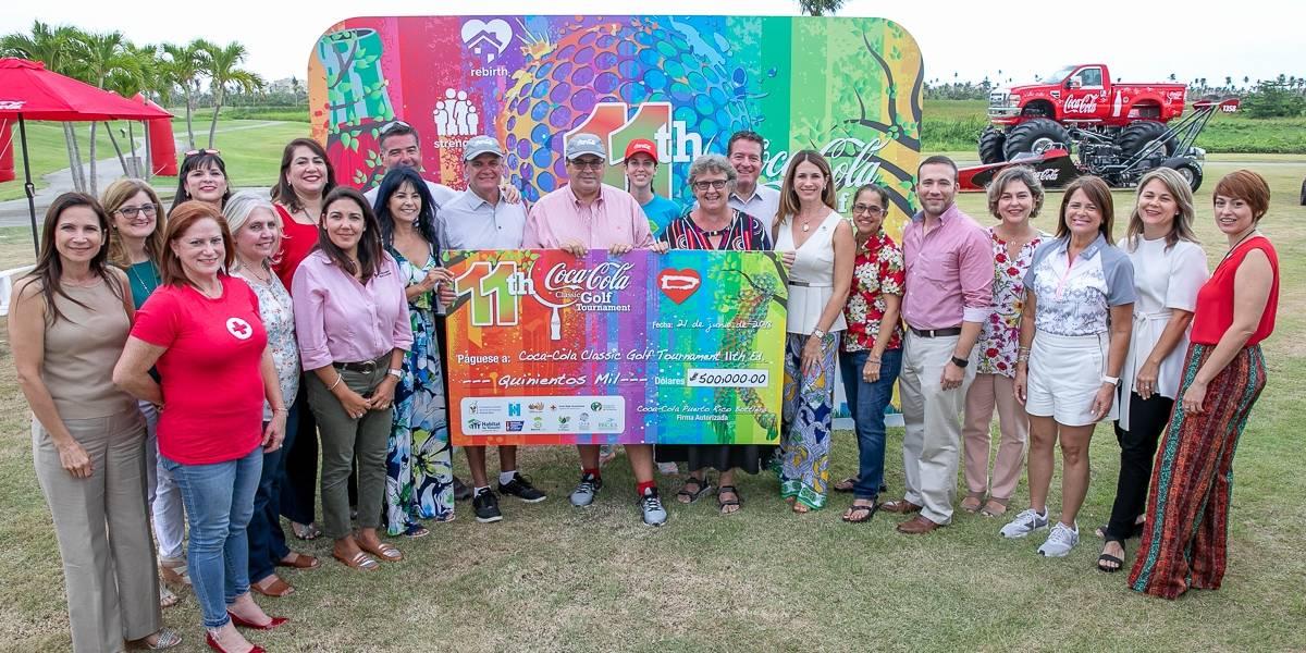 Coca-Cola Classic Golf Tournament recauda  medio millón de dólares en donativos