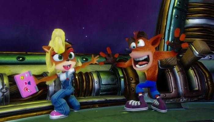 Crash y Coco