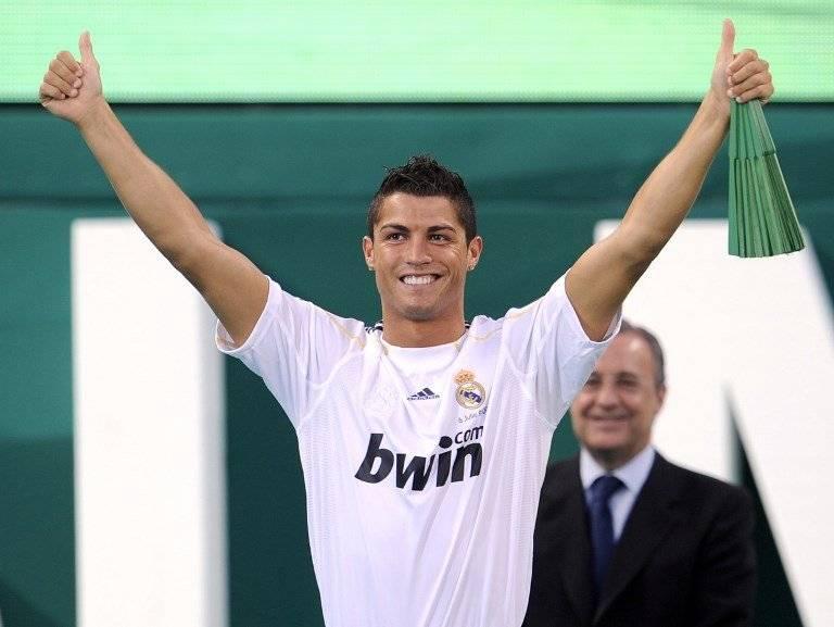 Así era presentado Cristiano Ronaldo en julio de 2009