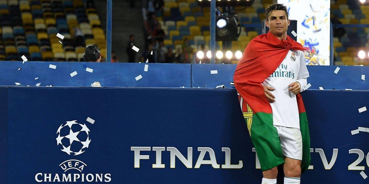 La primera foto de Cristiano como jugador de la Juventus