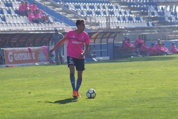 Diego Valencia anotó el gol de la UC ante La Calera / Foto: cruzados.cl