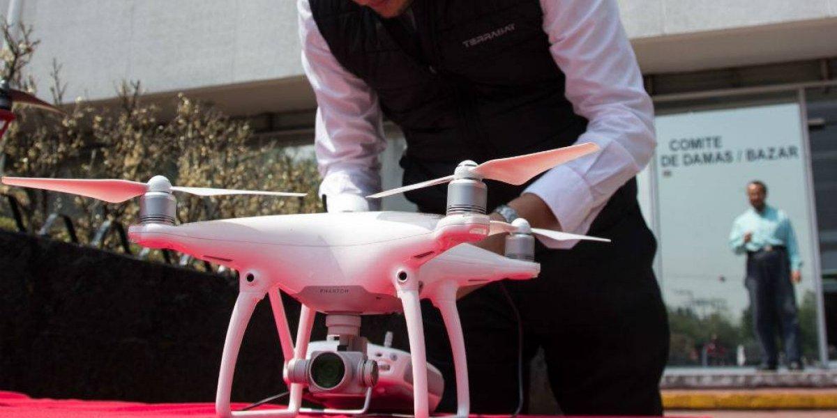 Drones con granadas sobrevolaron casa de titular de Seguridad de BC