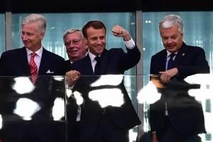 Emmanuel Macron en Rusia