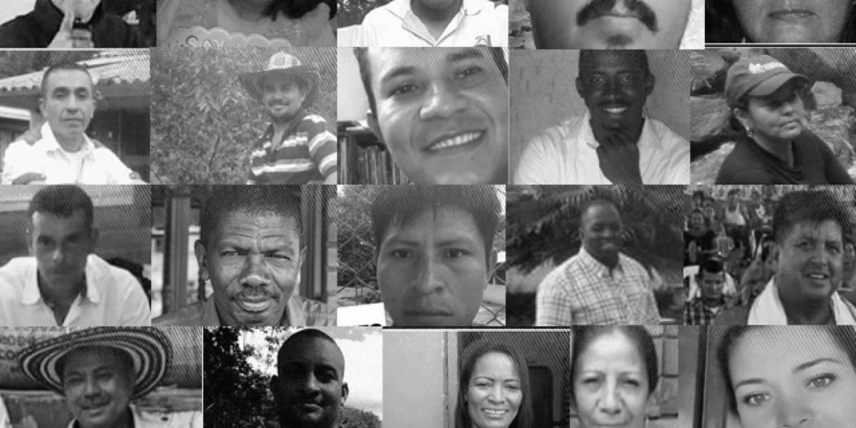 Alerta en Antioquia por los asesinatos y las amenazas a líderes sociales
