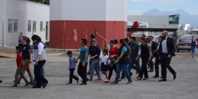 Familias reunificadas regresan a Guatemala