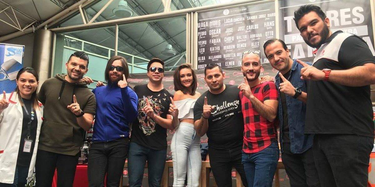 Gangster, Sunday Funday y Bani Muñoz se unen al Challenge de Fitness One